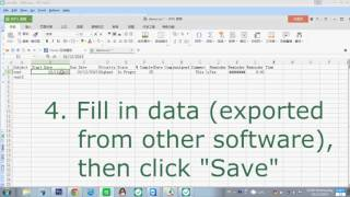 How to Export and Import Data from other software to EfficientPIM Software?
