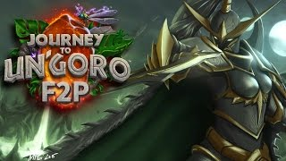 Hearthstone: Journey to Un'Goro F2P #02 - Turns Out Quest Rogue is Pretty Good