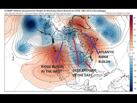 Weather Pattern Change Next Week But Weather Models Diverge On How Much of One
