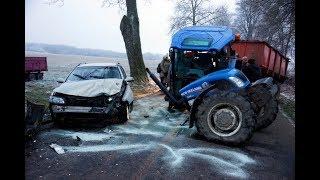 Ku przestrodze...Tragiczne WYPADKI maszyn rolniczych 2017 :(