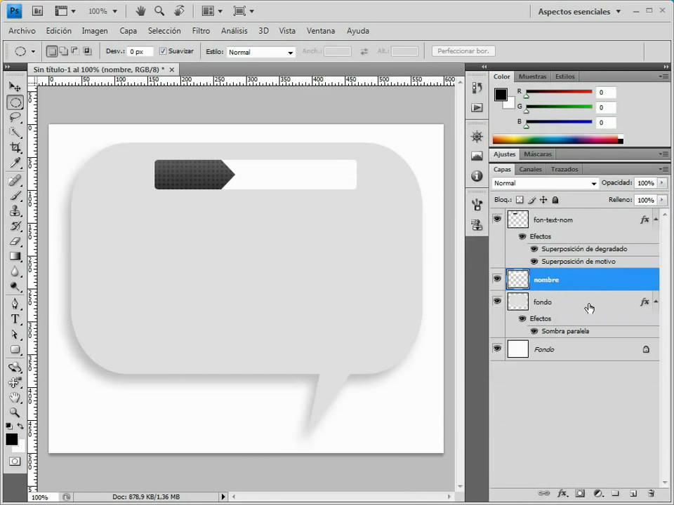 Como diseñar una plantilla web en photoshop y pasar a html - YouTube