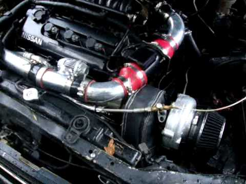 how to turbo nissan maxima - YouTube