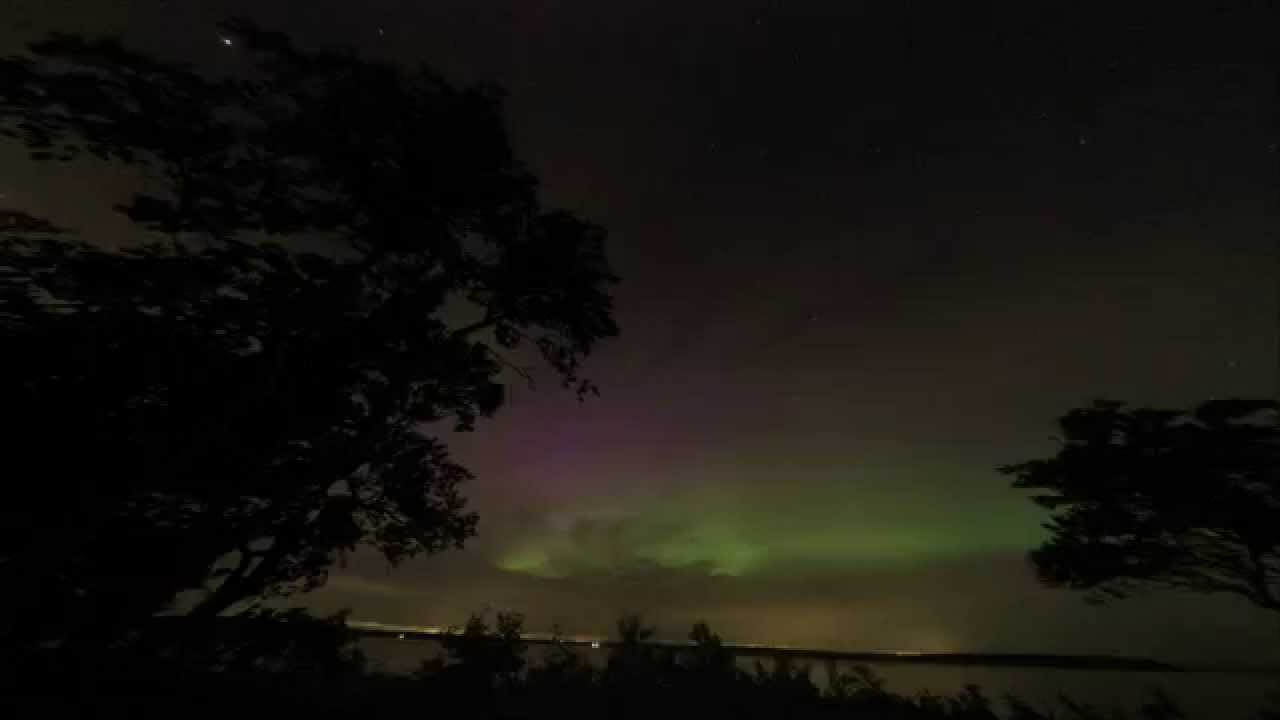 Aurora borealis time lapse june 23 2015 chebeague island for What time is it in maine right now