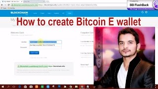 How to create Bitcoin E wallet urdu/hindi tutorial  by Forex Champs