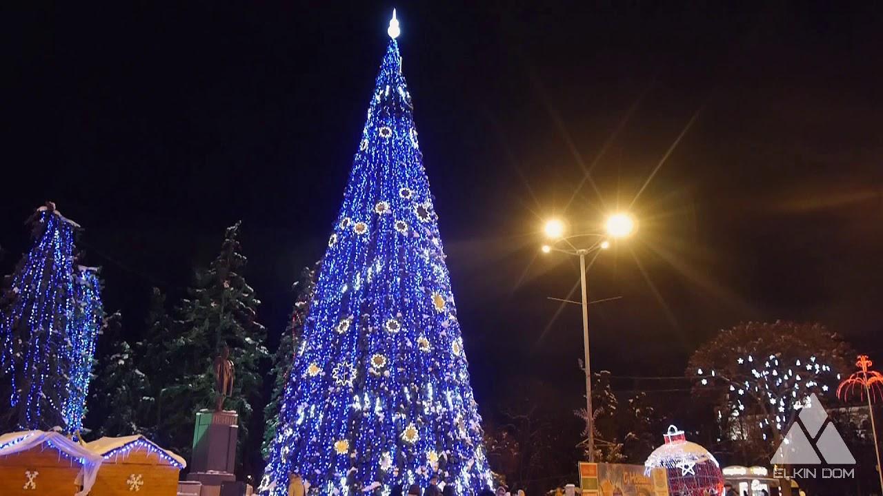 Ёлка Снежный серпантин. Ёлкин Дом | Christmas tree snow serpentine. Elkin Dom