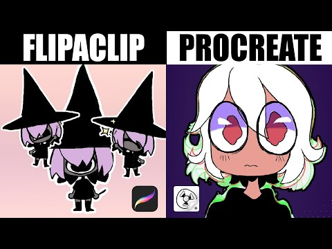 TESTING THE BEST ANIMATION APPS [Procreate V.S. FlipaClip] 2020