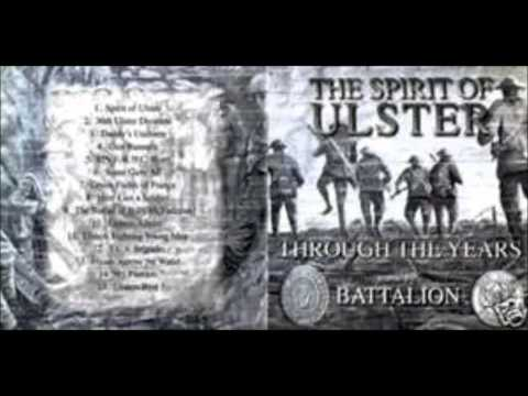 Somme. 36th Ulster division song.( Brave young men )  with flute and drums Lament... J.B.