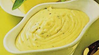 Eggless Hollandaise Sauce - Eggless Emulsified Sauce - Low Cholesterol Hollandaise Sauce