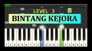 nada piano bintang kejora - piano level 3 - instrumen lagu anak anak cerdas