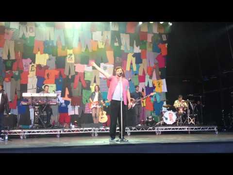Will Young live at Cornbury Festival 2012 - Evergreen