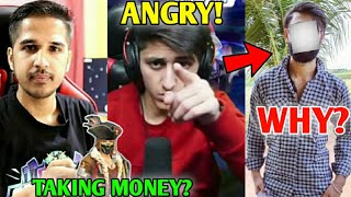 BIG YouTuber ANGRY! - Why? | Total Gaming doing FAKE Tournament by Taking Money?! - His Reaction