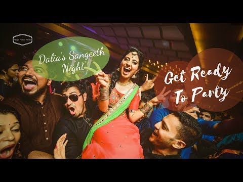 Dalia's Sangeeth Night Party