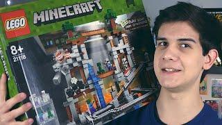 LEGO Minecraft Шахта - НАБОР НА ОБЗОР (21118)