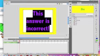 How to create a basic quiz game - Adobe Flash CS5.5