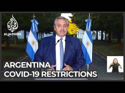Argentina surge: Gov't introduces new restrictions to curb COVID spread