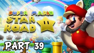 New Super Mario Bros. Wii U Walkthrough - Part 39 SuperStar Road Adventures Gameplay
