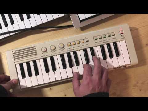 Yamaha PortaSound (PS 1) Démonstration