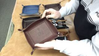 Mitchell Leather Valet Tray: A Closer Look
