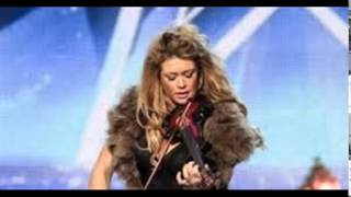 Lettice Rowbotham gives the Judges something new - Britain's Got Talent 2014 (ONLY SOUND)