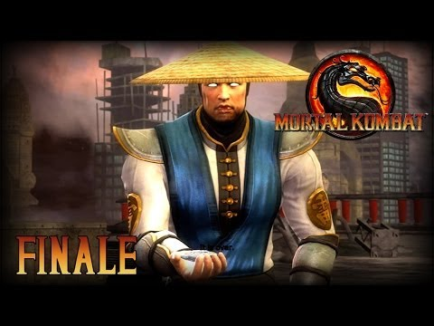 Mortal Kombat 9 Let's Play FINALE - Our Work Has Only Just Begun! (Raiden)