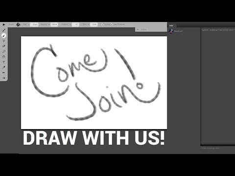 DRAW WITH US!