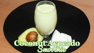 Coconut Avocado Smoothie | All Nigerian Recipes