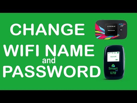 How To Change Smart Bro Pocket Wifi Password And Name