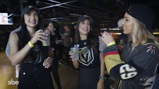 Hyde Lounge at T-Mobile Arena in Las Vegas is ready for Hockey Season!