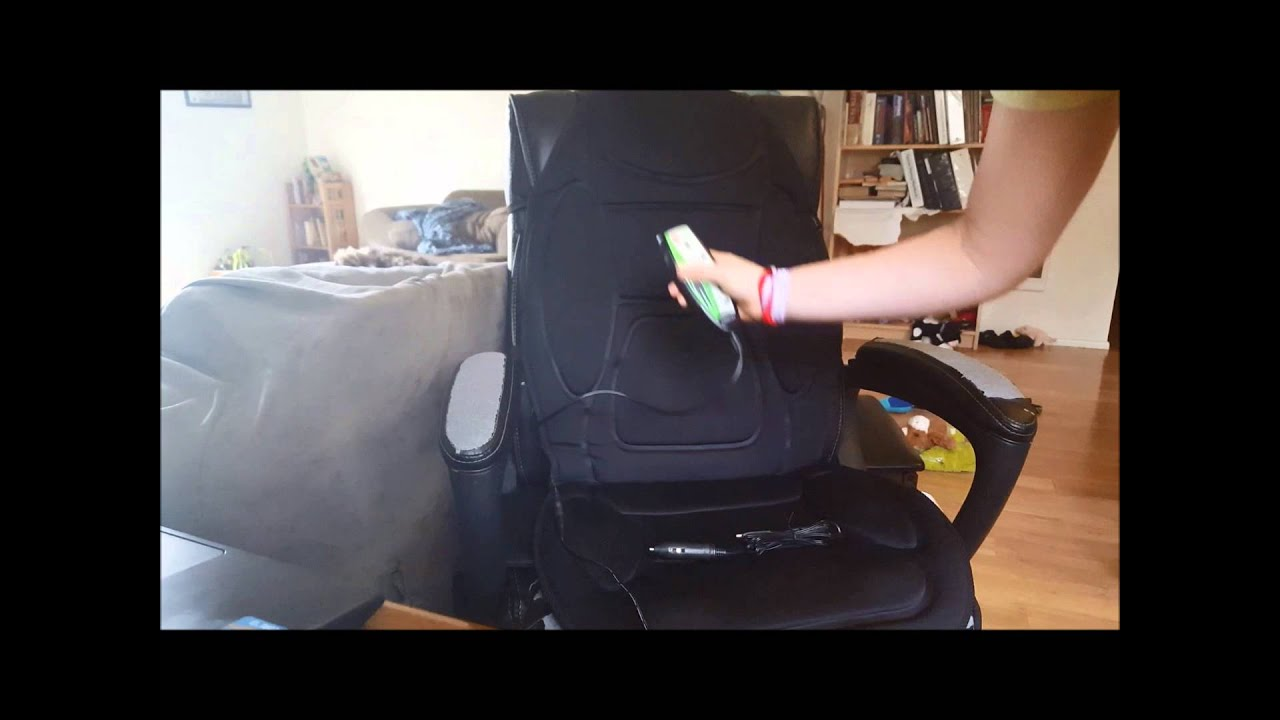 Gideon™ Seat Cushion Vibrating Massager   YouTube