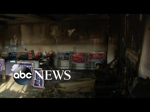 North Carolina GOP Office Hit by Suspected Firebomb