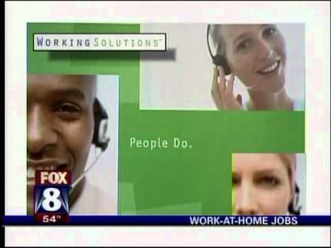 Work-At-Home Jobs - WGHP, Fox Greensboro news segment