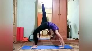 Упражнения для гибкой спины и плеч. Проработка прогибов, кольцевые захваты.