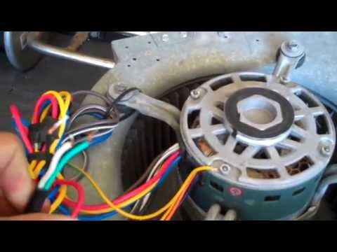 HVAC Fan Wiring For Standalone Use 120 Volt Outlet  YouTube