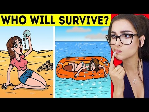 HARD Riddles To Test Survival Skills