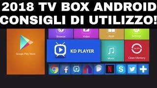 QUESTA COSA LA SAPEVI? 2108 TV BOX ANDROID CONSIGLI DI UTILIZZO!