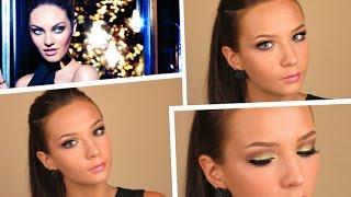 Новогодний макияж Кэндис Свейнпол от Max Factor
