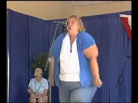 Fat Lady Makes Wild Boar Noises