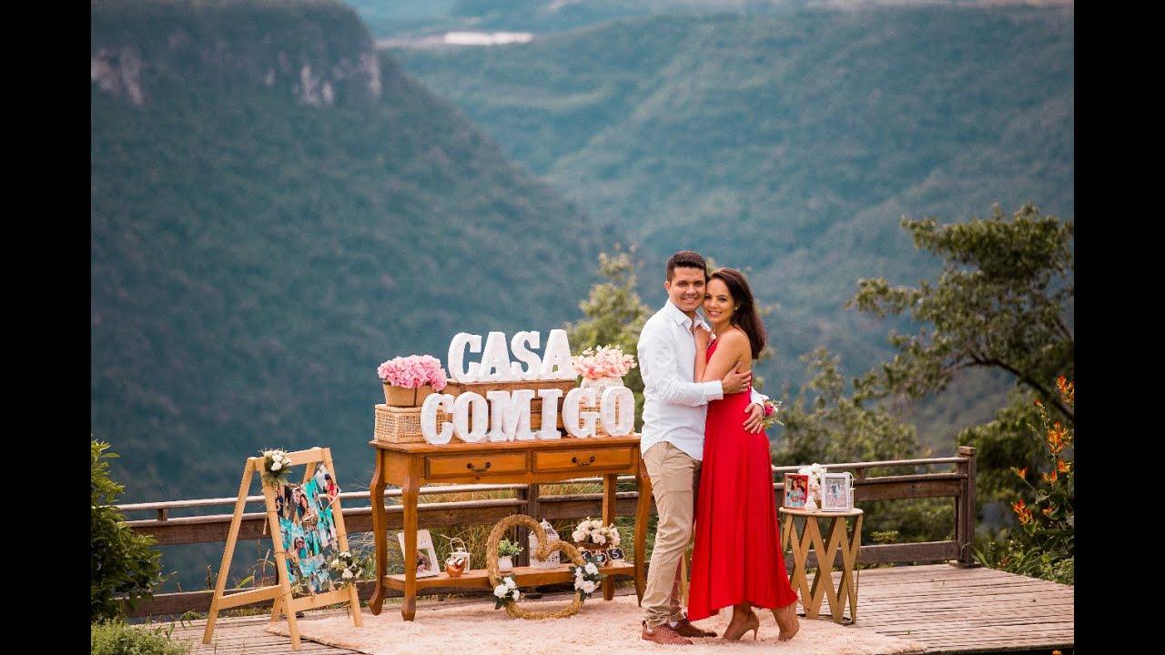 Pedido de Casamento Tiago e Sarah - Gramado RS