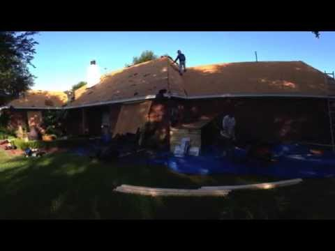 Roof Replacement -  GAF Timberline Lifetime HD, Color = Charcoal