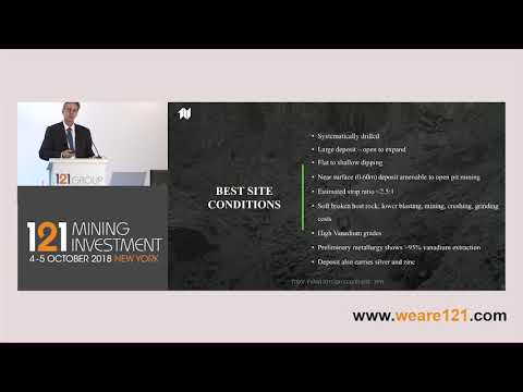 Presentation: First Vanadium - 121 Mining Investment New York October 2018