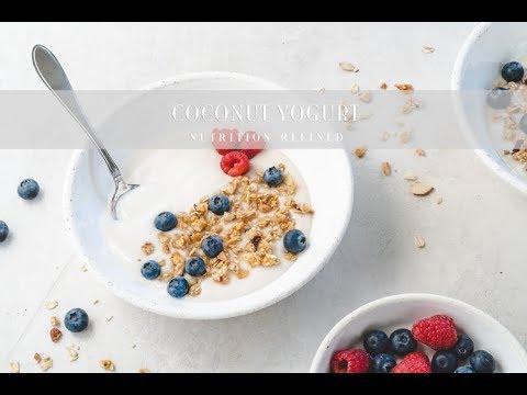 Coconut Yogurt | Raw, Vegan, Paleo, Keto