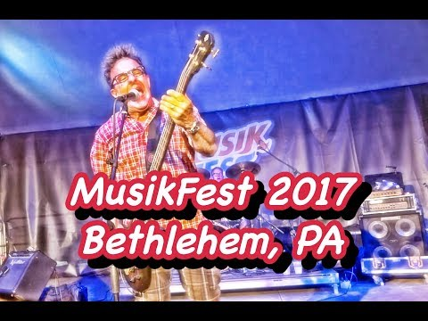 Musikfest 2017 Day 2 | YouMeADV | Bethlehem, PA | Vlog | Live Music | Rock The Valley