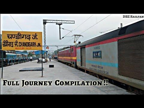 CHANDIGARH to MOHALI. Full Journey Compilation. Indian Railways