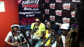 VYBZ KARTEL LIVE AT SLAM 100.5FM TRINIDAD