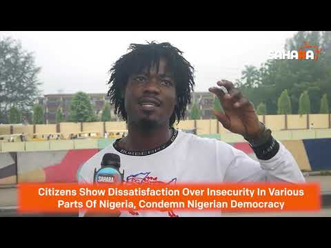 Nigerian Citizens Condemn Insecurity Across The Nation