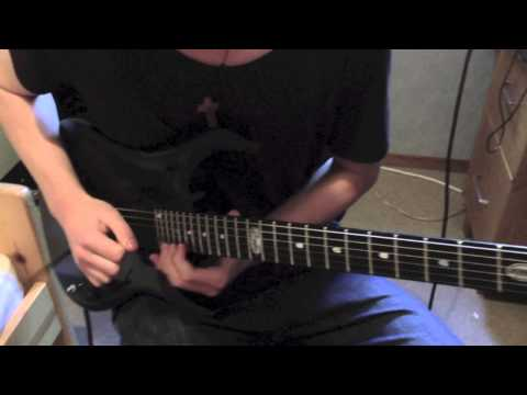Dirty Loops Sayonara Love  Keyboard Solo on Guitar