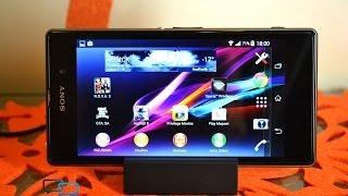 обзор Sony Xperia Z1: номер один из стекла и металла (review)