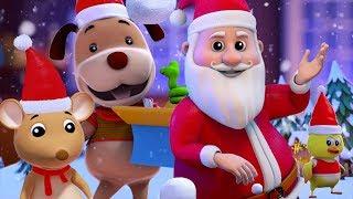 klingeln Glocken | Weihnachts reime auf Deutsch | Lieder für Kinder | Merry Xmas | Jingle Bells