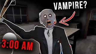 Granny Turns into a Vampire at 3:00 AM in Granny Horror Game... (Granny Mobile Horror Game Dracula)