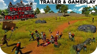 Defend The Highlands Trailer & Gameplay HD